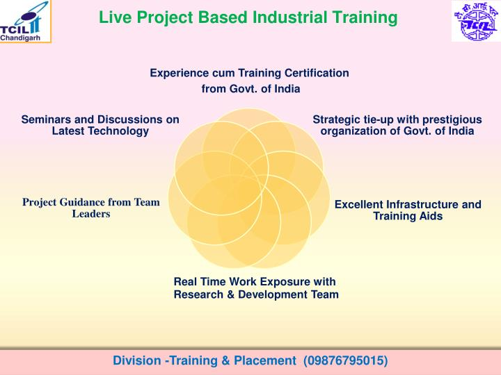 Live Project Based Industrial Training