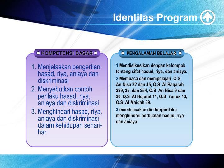 Identitas Program