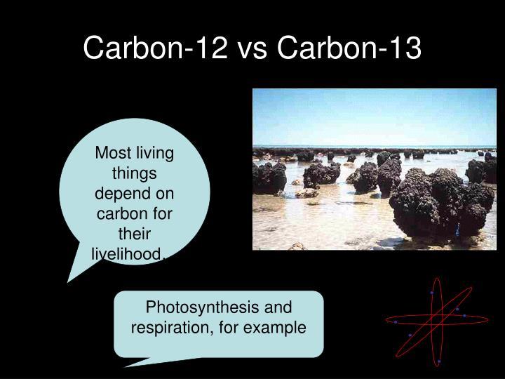 Carbon-12 vs Carbon-13