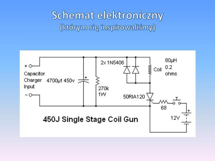 Schemat elektroniczny