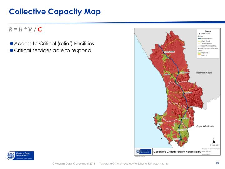 Collective Capacity Map