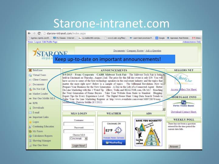 Starone-intranet.com