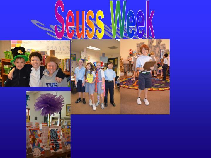 Seuss Week