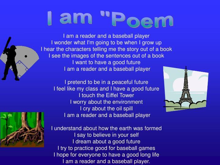 """I am """"Poem"""