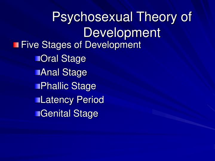 Psychosexual Theory of Development