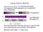 using client s buffer