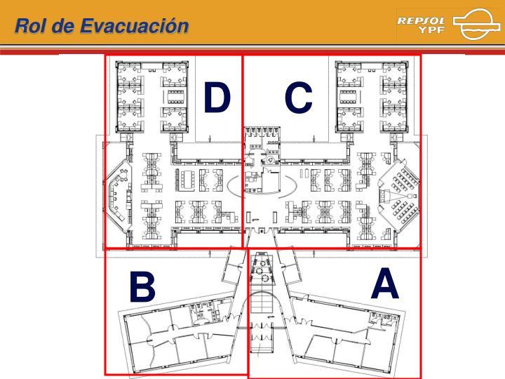 Rol de Evacuación