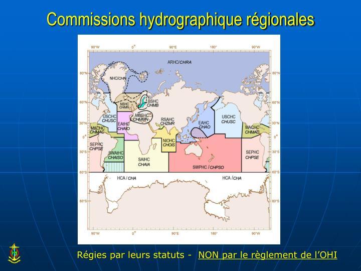Commissions hydrographique régionales