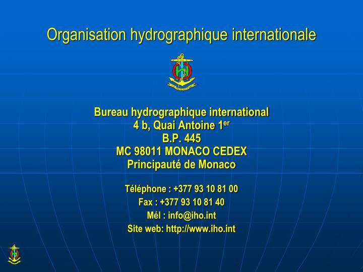 Organisation hydrographique internationale