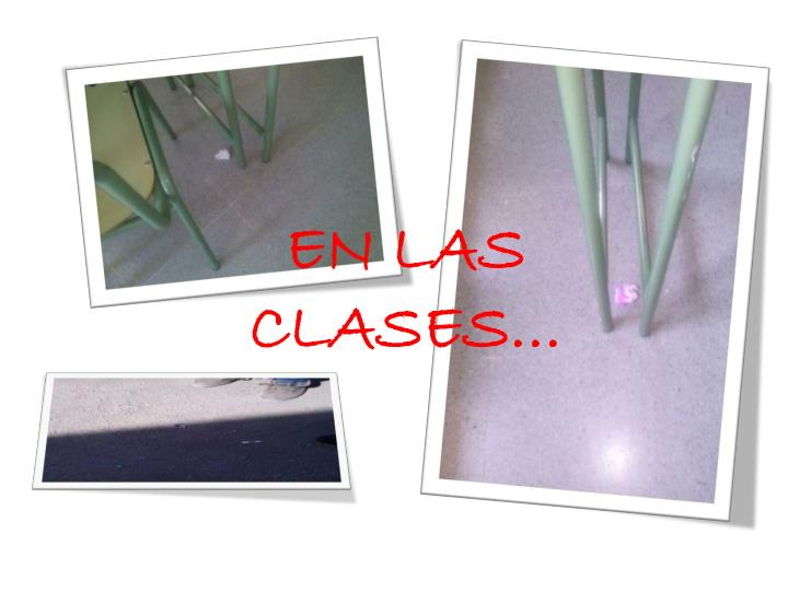 EN LAS CLASES…