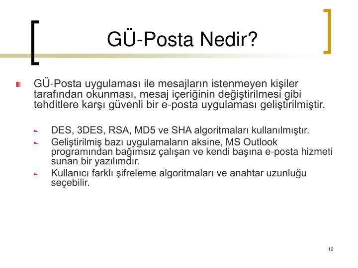 GÜ-Posta Nedir?