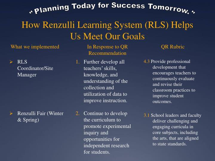 RLS Coordinator/Site Manager
