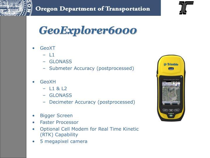 GeoExplorer6000