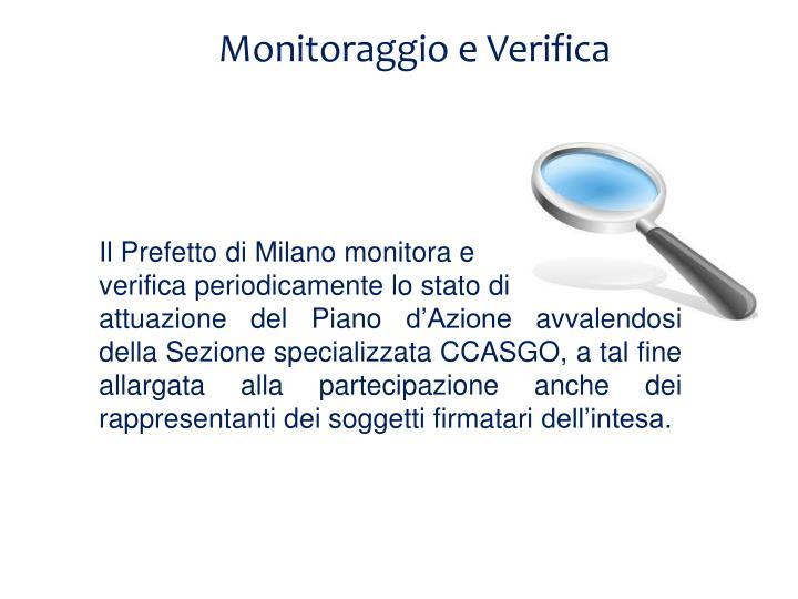 Monitoraggio e Verifica