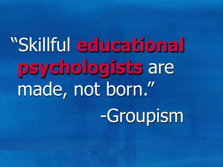 """Skillful"