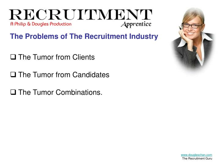 The Problems of The Recruitment Industry