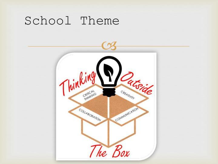 School Theme