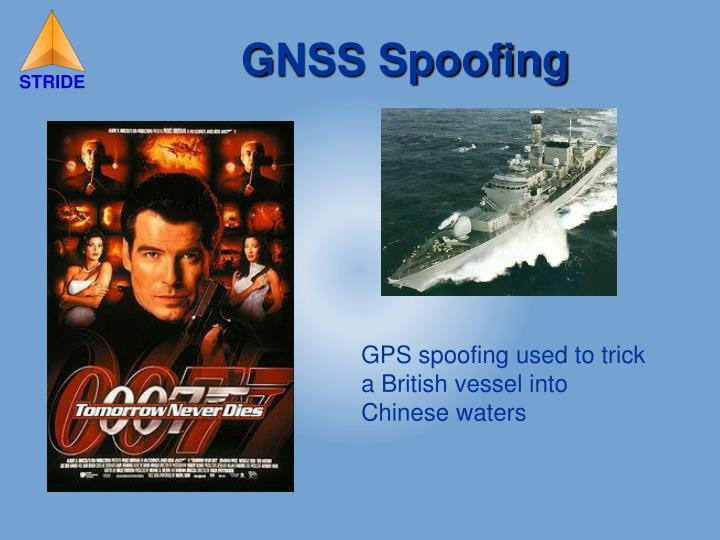 GPS spoofing used to trick a British vessel into Chinese waters