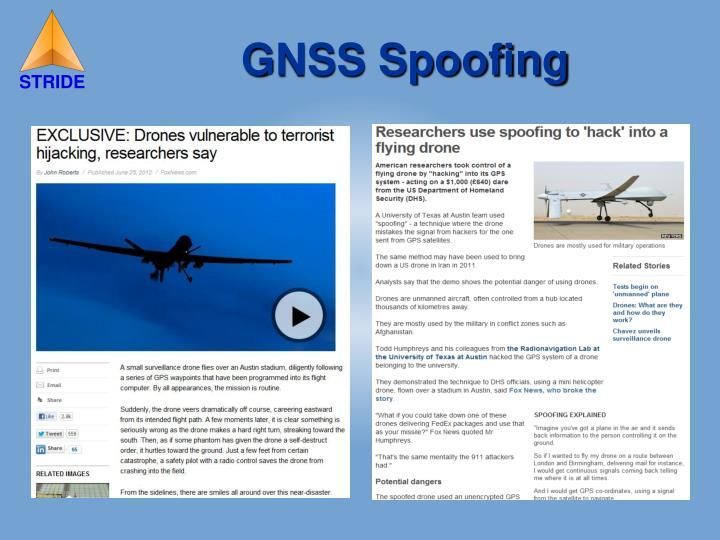 GNSS Spoofing