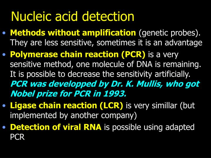 Nucleic acid detection