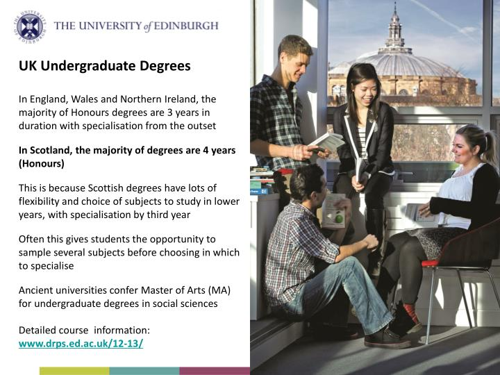 UK Undergraduate Degrees