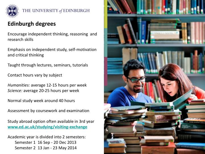 Edinburgh degrees