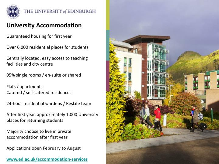 University Accommodation