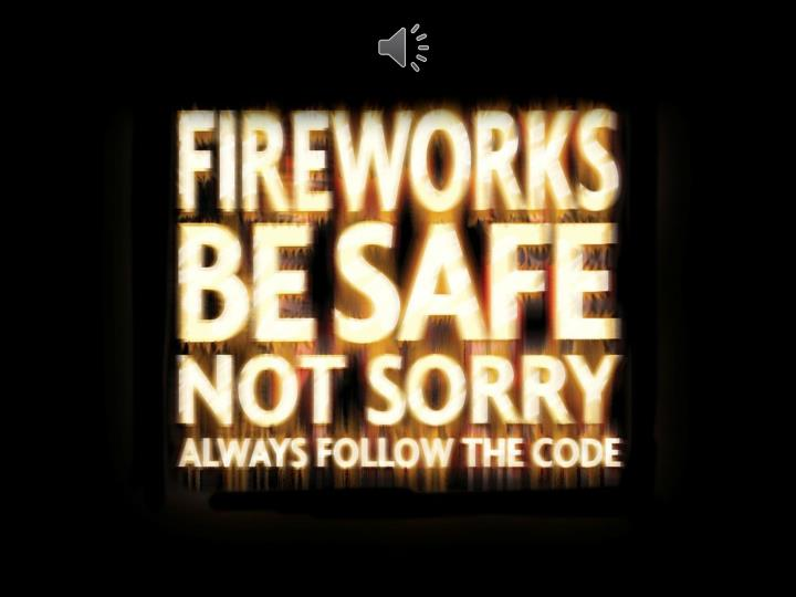 Follow ben for firework safety primary age range 5 11 years