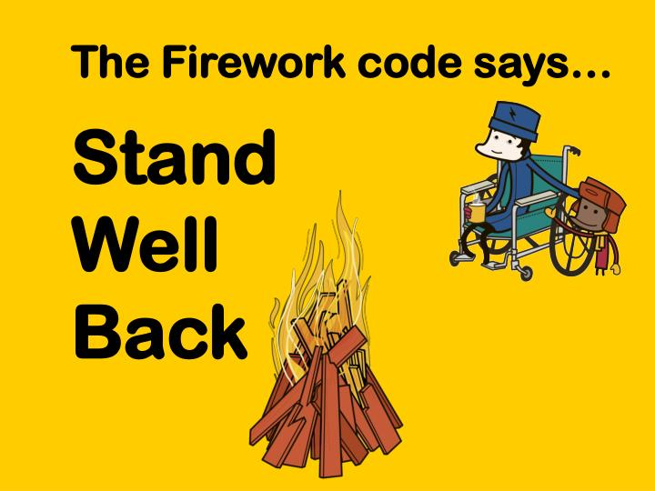 The Firework code says…