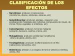 clasificaci n de los efectos1