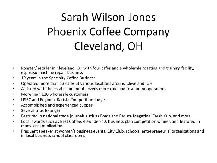 Sarah Wilson-Jones