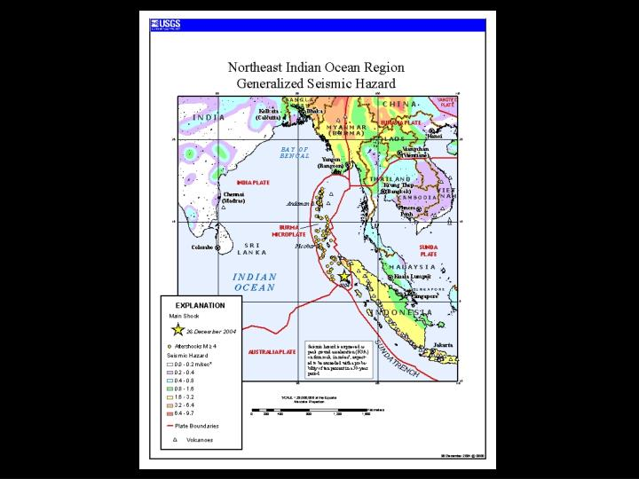 Tsunami disaster on 26 th december 2004 presented by shantanu sarkar cbri roorkee india