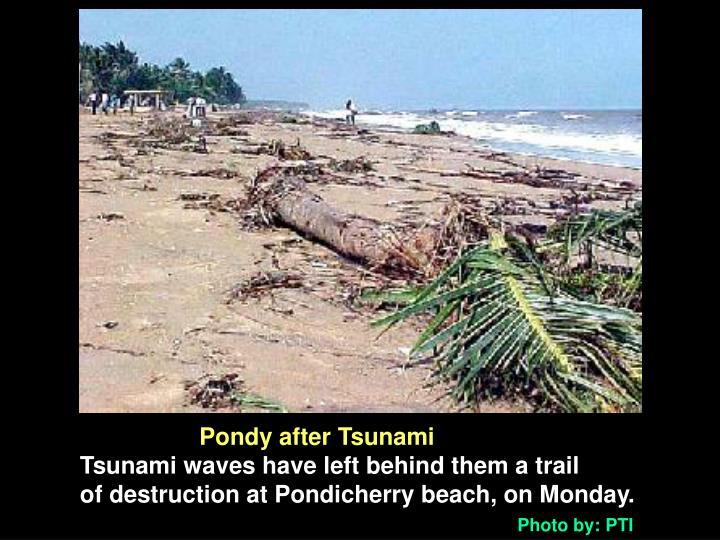 Pondy after Tsunami
