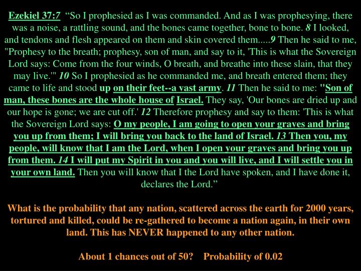 Ezekiel 37: