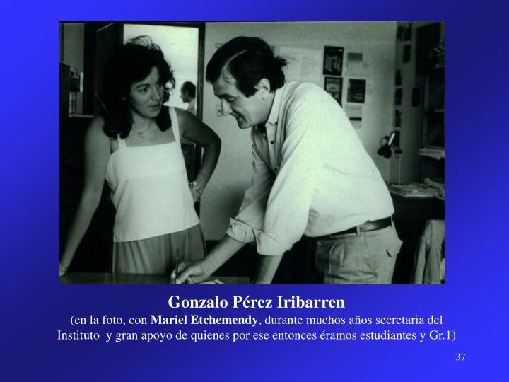 Gonzalo Pérez Iribarren