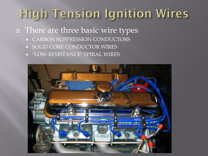 High Tension Ignition Wires