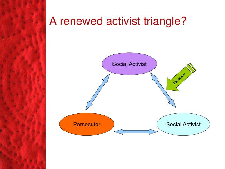 A renewed activist triangle?