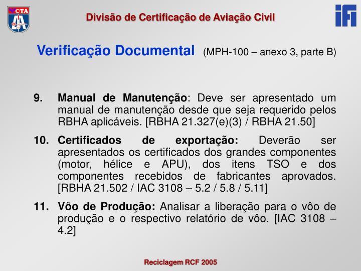 Manual de Manutenção