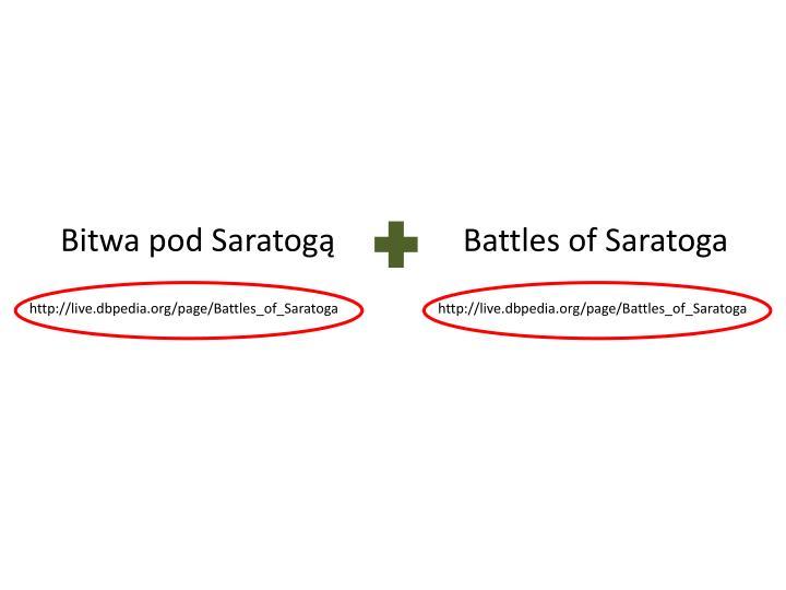 Bitwa pod Saratogą