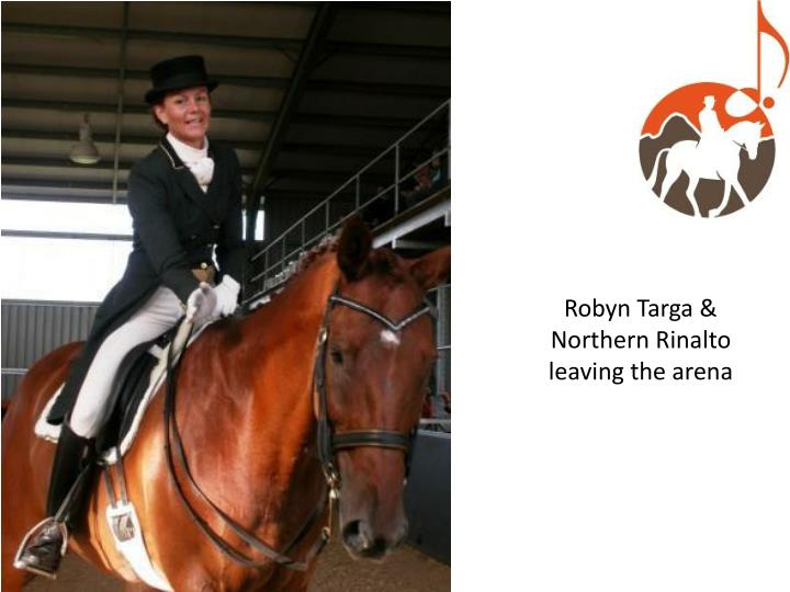 Robyn Targa & Northern Rinalto