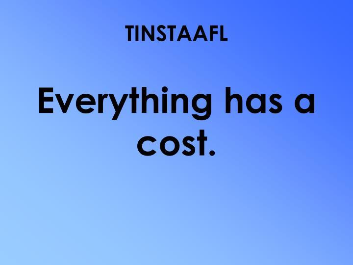 TINSTAAFL