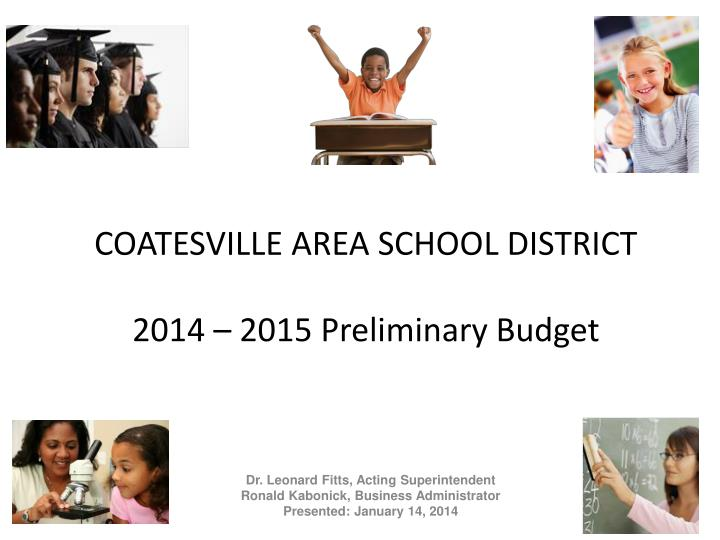 Coatesville area school district 2014 2015 preliminary budget