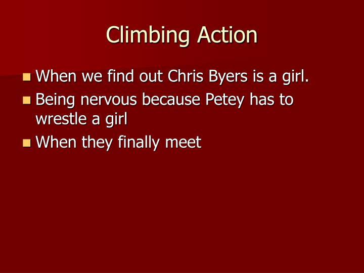 Climbing Action