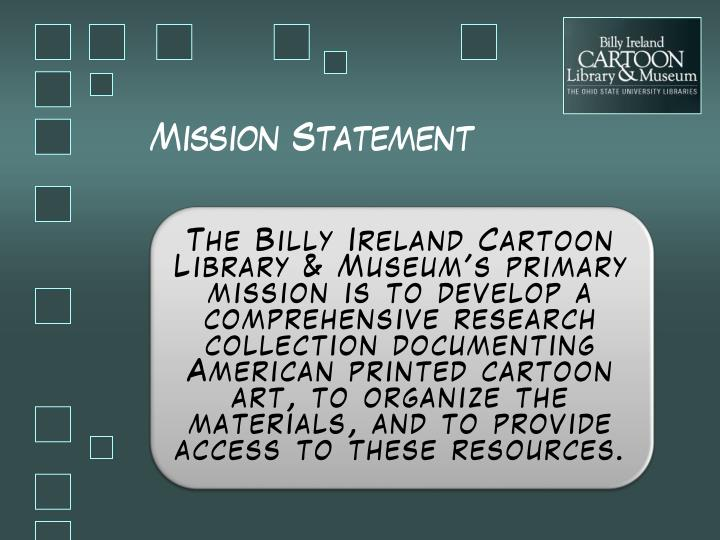 M ission statement