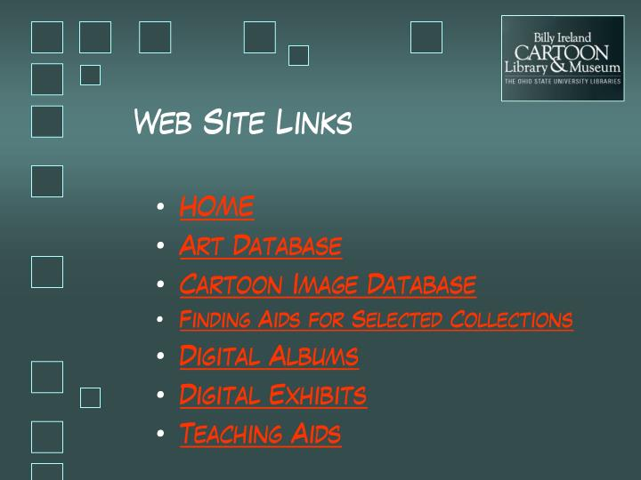 Web Site Links