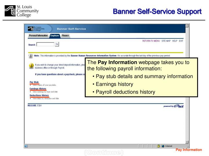 Pay Information