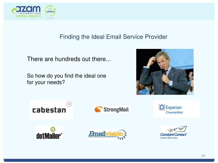 Finding the Ideal Email Service Provider