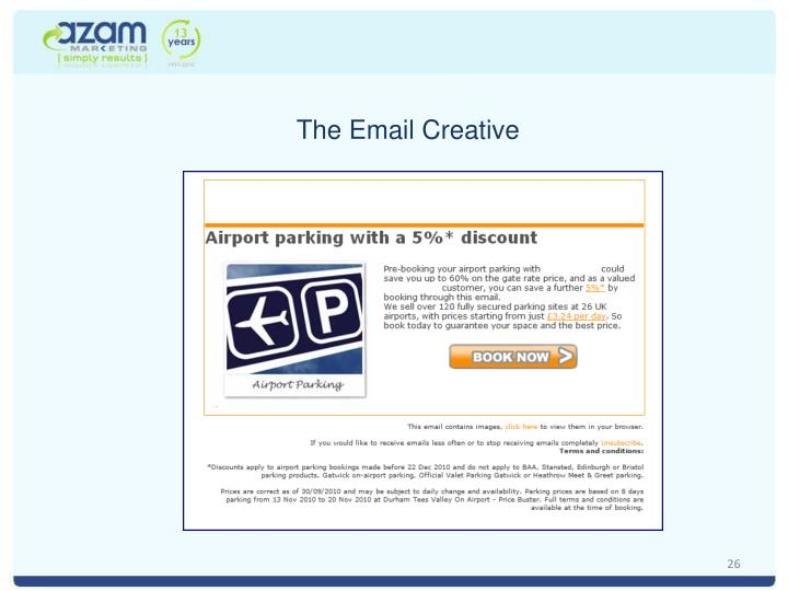 The Email Creative