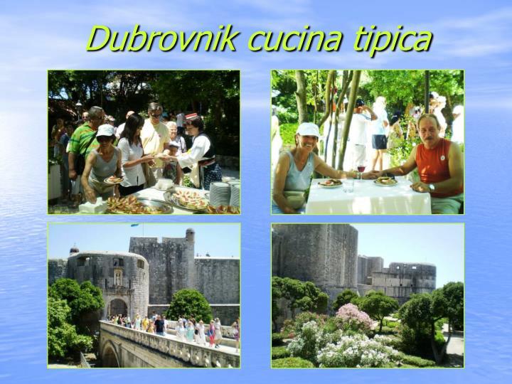 Dubrovnik cucina tipica