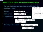 impedance and the phasor diagram8